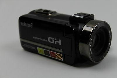 Camcorder,Besteker 1080P IR Night Vision Full Digital Video