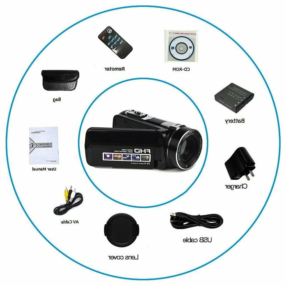 Camcorder Video Full HD 1080P MP Camera