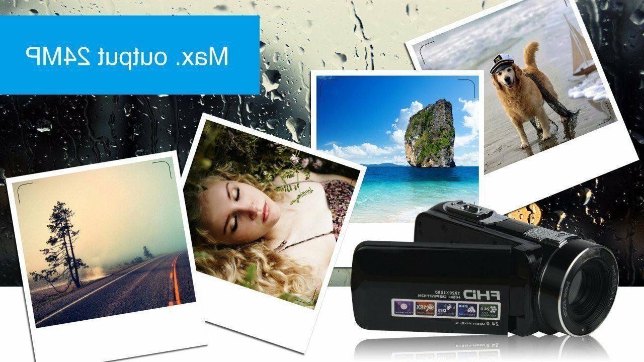 Camcorder Video Camera Full HD MP Digital Camera 18× Digital Zo