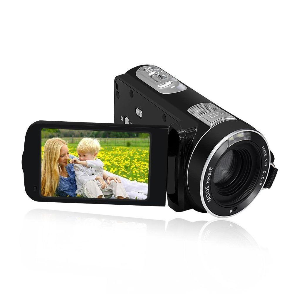 Camcorder Video Camera Full MP 18× Digital Zo