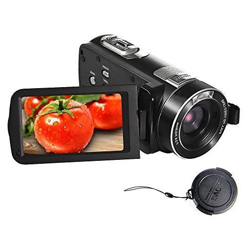 camcorder 18 zoom portable recording