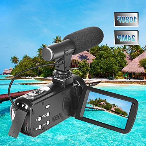 Full Digital Camera 30FPS Camera for Youtube Vlogging Camera Remoter