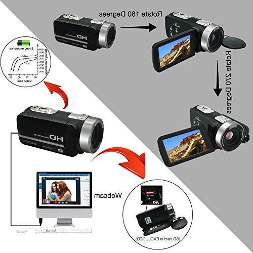 """Video Full 1080p 30fps Night Vision 3"""" Digital Video Recorder"""
