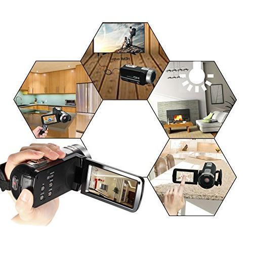"Video Full HD 1080p 30fps Video Night 3"" Digital Video Recorder"