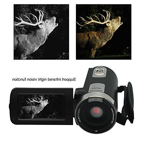 Video Full 1080p Camera Night Vision Webcam Recorder