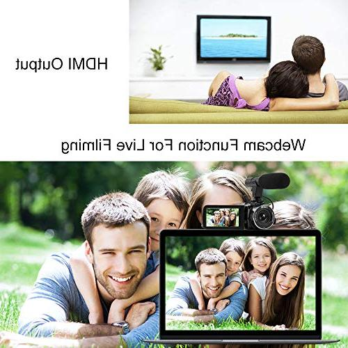 SEREE 1080P with IR Vision LCD Touch Video with Microphone