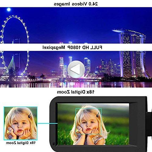 Camcorder Camera IR Night Vision HD Digital Camera 24.0Mega Pixels 18X for