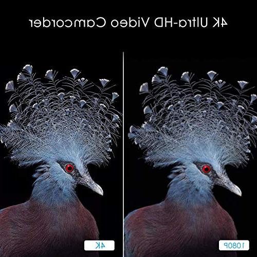 4k Camcorder,Regemoudal 1080P Camera Camcorder 128GB 48MP 3 Video Camera Camcorder,Capactive Touchscreen 16X