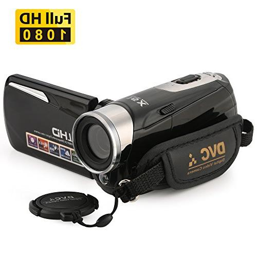 Camcorder,Bekhic Infrared Handy Camera 24MP 16X Video Touchscreen