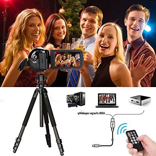 Video IR Night Vision, 18X Digital Zoom 24.0Mega Pixels Video Camera Recorder