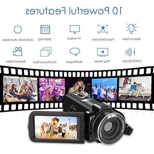 IR Vision, 18X Digital Zoom Pixels Digital Video Recorder