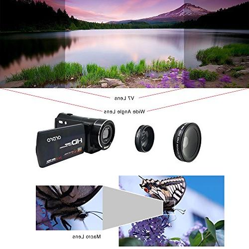 ORDRO HD External and Lens Kit
