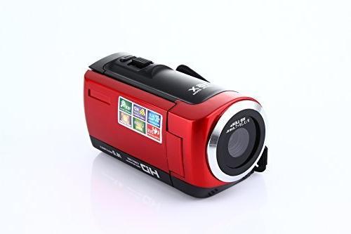 Camera 1080P Max.16.0 Megapixels 1280720P DV Camera, Video Camcorder 16X with 270