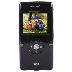 Vivitar Digital Camcorder - 2 LCD - HD - Black - 16:9 - 4x D