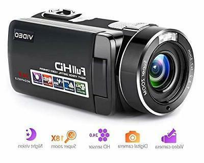 camcorder digital camera full hd 1080p 18x