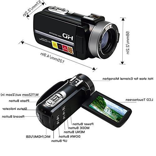 SEREE Camera External Microphone Vision Full Screen Shoe