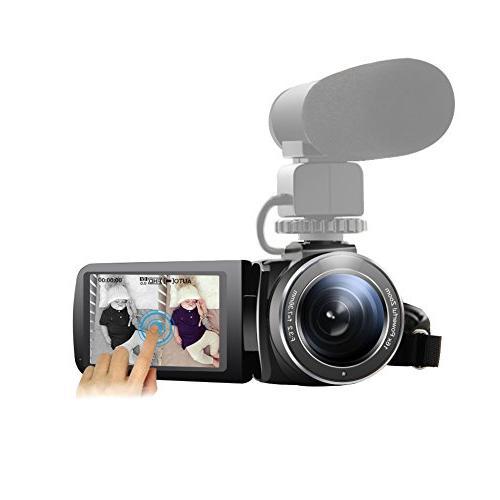 camcorder external microphone input night