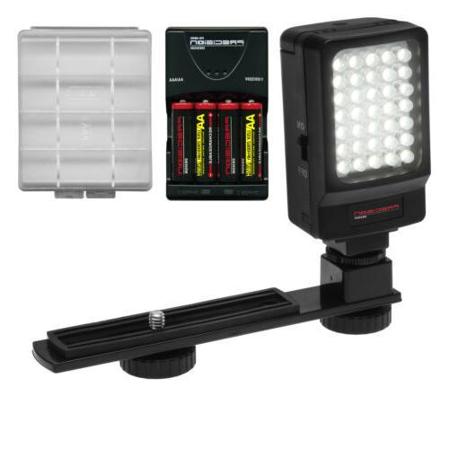 Precision Design Digital Camera / Camcorder LED Video Light