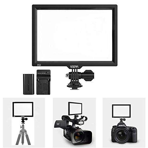 Camera Video Light Panel Super Soft 3200K-5600K YouTube Video Portrait Wedding Bright Dimmable Light