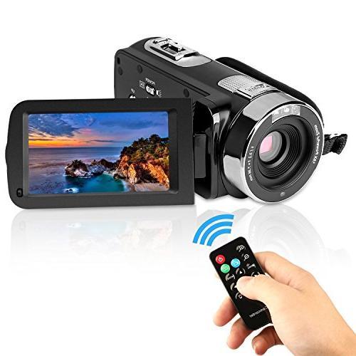 PowerLead Digital Video Camcorder Vision 24MP HD Digital