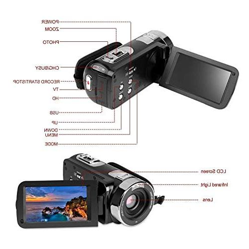 PowerLead Screen Digital Camcorder Vision Camera Digital Camera