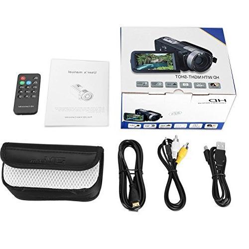 """PowerLead 2.7"""" Screen Digital Video Vision 24MP Digital"""