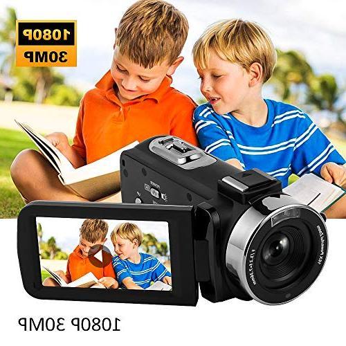 Camcorder HD Vision Camcorder Vlogging Camera Vlog Video Camera YouTube