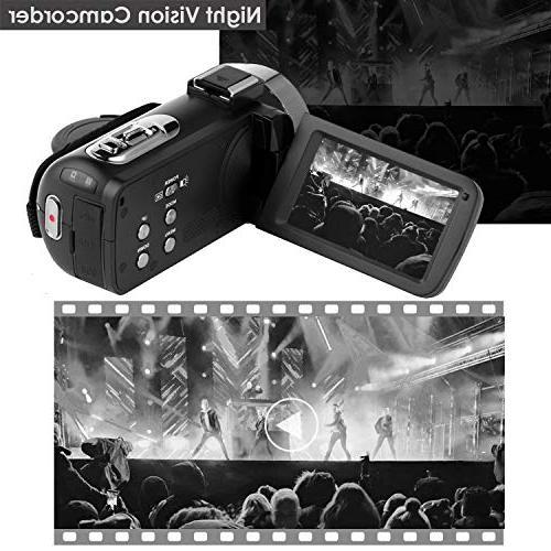 Video Camera Camcorder Digital Camera YouTube Camera External