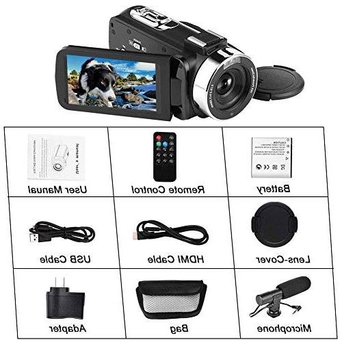 Video Digital Night Vision YouTube Camera with External and Remoter