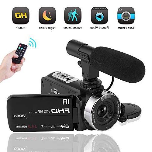 camcorder night vision youtube vlogging