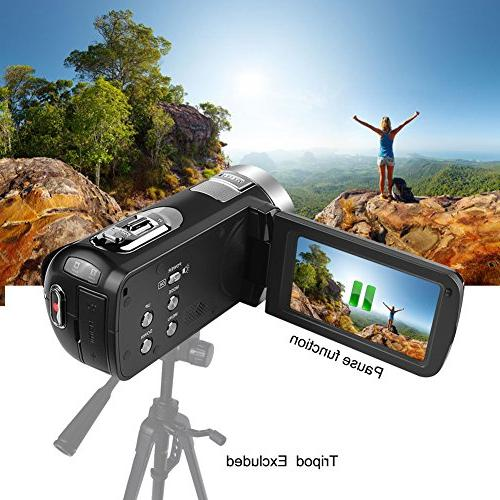 Camcorder Video Camera 3.0 Degree Rotatable Recorder
