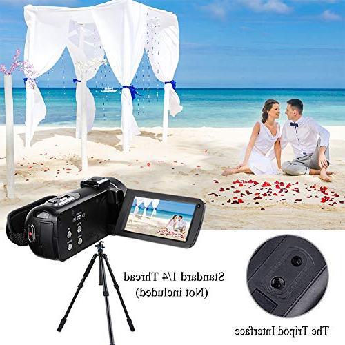 Video Camera Camera 3.0 inch LCD 270 16X Zoom Camera Recorder Batteries