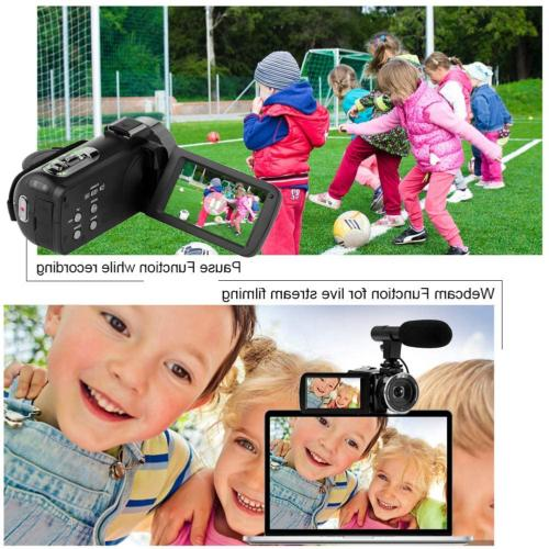 Camcorder Video 48MP WiFi Night Vision Camcorder