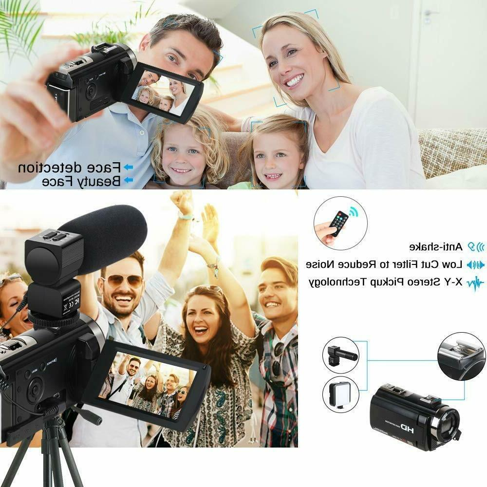 Camcorder Video Camera YouTube Camera HD 1080P