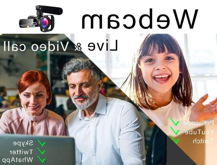 Camcorder Ultra HD Digital