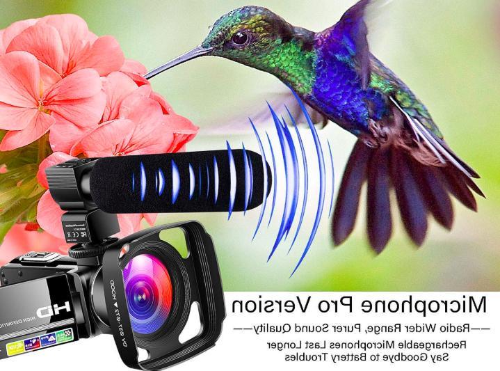 Camcorder Camera Ultra HD Digital