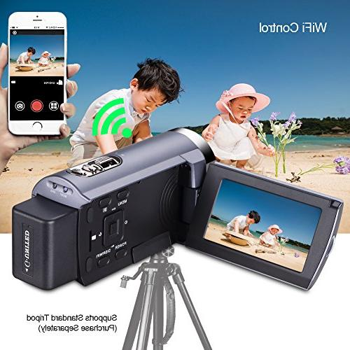 SEREE WIFI Digitial 3.0'' Touch Screen Vision Camcorder