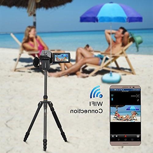 SEREE WIFI Video Camera FHD 30FPS Night Vision 16X Digital 3 Inch Screen