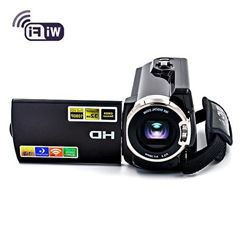 camcorder wifi fhd 60fps night
