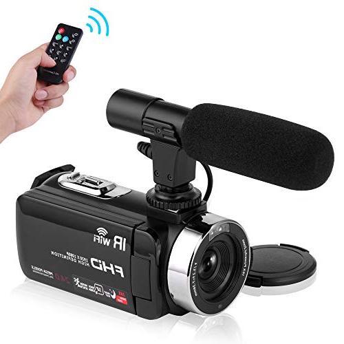 camcorder wifi vlog night vision