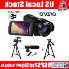 ORDRO HD 1080P Digital Video Camera Camcorder 24MP 16X Zoom