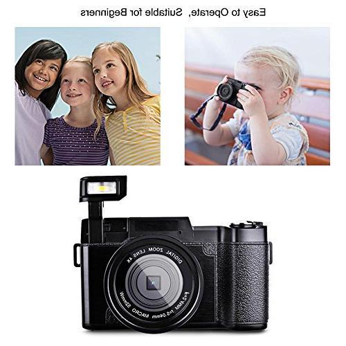 Digital Camcorder Full HD 1080P Megapixels Zoom Retractable light Inch