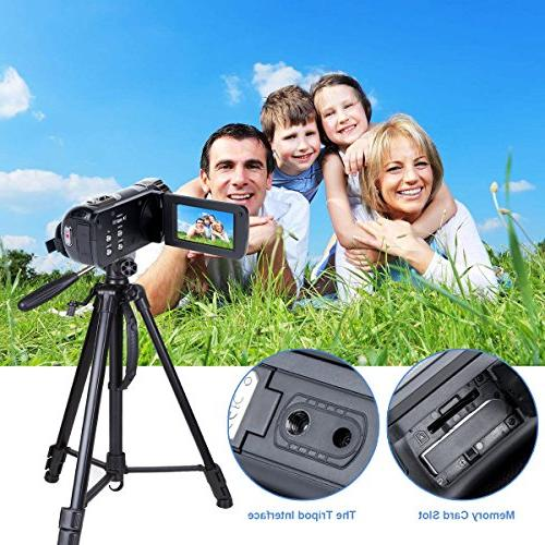 Digital HD MP 16X Powerful Digital Zoom Video Inch with 270 Rotation Screen Camera Lithium Battery