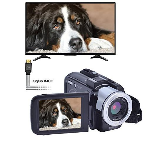 SEREE 24.0 Video Camcorder Night Camera Zoom