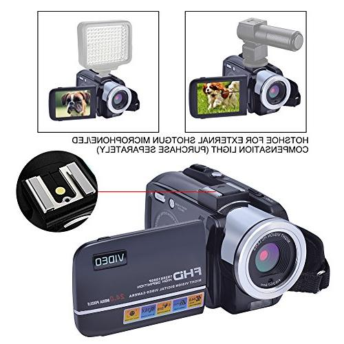 SEREE 24.0 Video Camcorder Camera DV Zoom