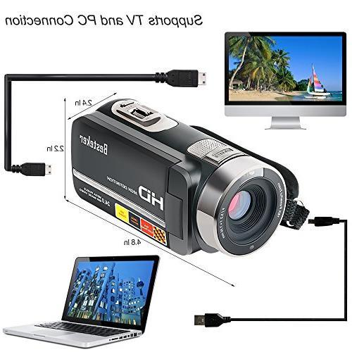 Besteker Night Vision Digital Zoom Portable