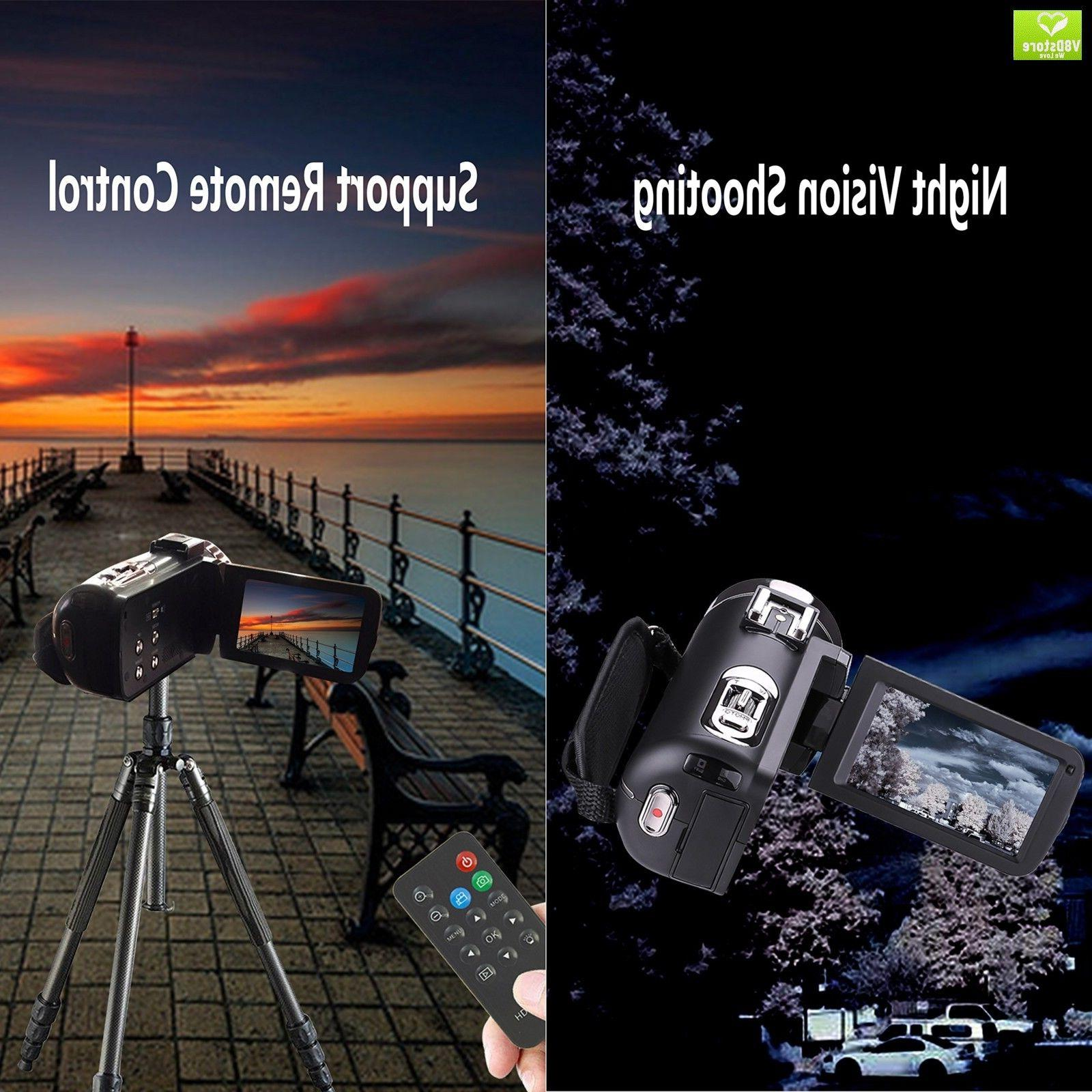 Camera Remote Control Infrared Night Vision Handy Camera