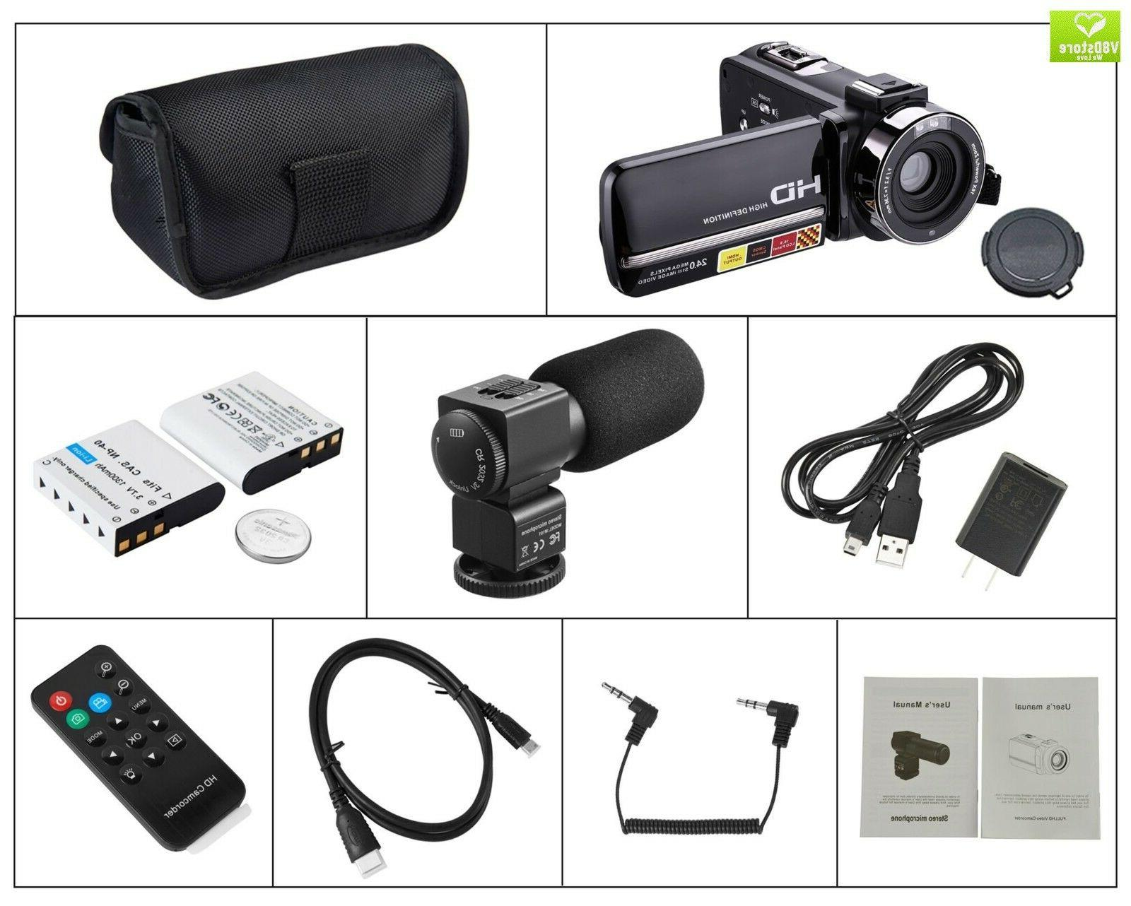 Camera Camcorder,Onshowy Camera HD