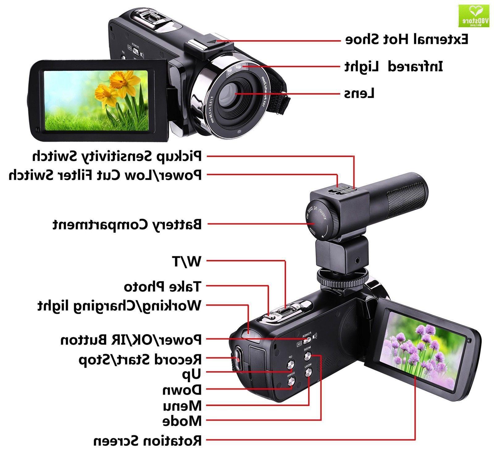 camera camcorder remote control infrared night vision