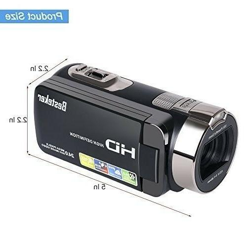 Camera Besteker 1080P MP Digital Video Camcorder wi...